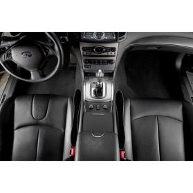 LEEPEE Auto Organizers Seat Holder Gap Pocket 2 PCS -10572 - Black - 4