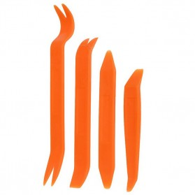 Alloet Car 4 in 1 Removal Pry Tool / Pengungkit - AA16 - Orange - 2
