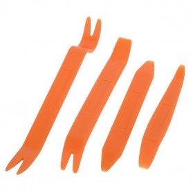 Alloet Car 4 in 1 Removal Pry Tool / Pengungkit - AA16 - Orange - 7