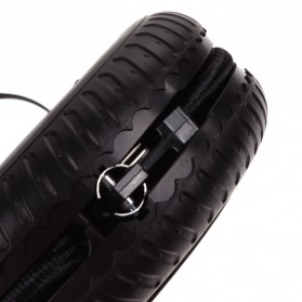 Portable Motorcycle Tire Air Compressor 12V 260 PSI - Black - 4