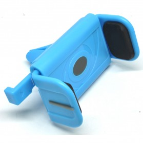 Universal Air Vent Easy 1 Touch Smartphone Holder - Blue