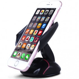 Car Holder Smartphone Transformer Mouse - Black - 2