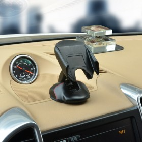 Car Holder Smartphone Transformer Mouse - Black - 4