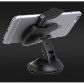 Car Holder Smartphone Transformer Mouse - Black - 9