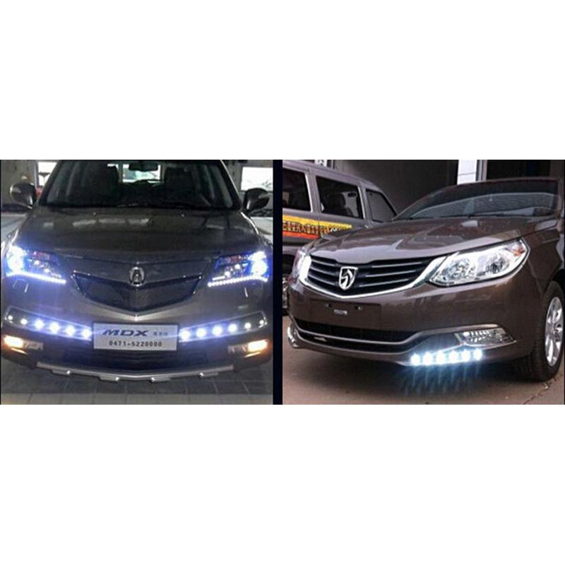 Sikeo Car Styling Diy 9w 500 Lumen Waterproof Eagle Eye Led Lamp 1 Pcs Lampu Mobil Sk101 Red Jakartanotebook Com