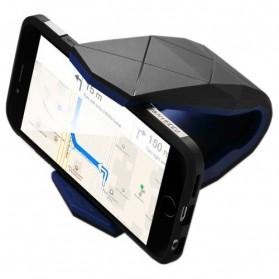 Universal Stealth Cradle Holder Smartphone Mobil Alligator Clip - Blue/Black - 9