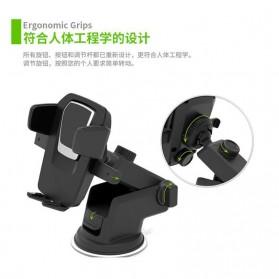 Car Holder Smartphone Transformer - 160628 - Black - 2