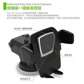 Car Holder Smartphone Transformer - 160628 - Black - 3