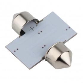 Lukstar Lampu Interior Mobil LED Super White 31mm Festoon 16 SMD 1210 - 2 PCS - White - 5