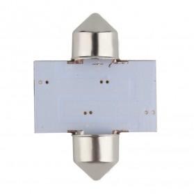 Lukstar Lampu Interior Mobil LED Super White 31mm Festoon 16 SMD 1210 - 2 PCS - White - 6