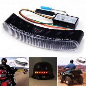 Lampu LED Rem & Sein Helm Motor - Black