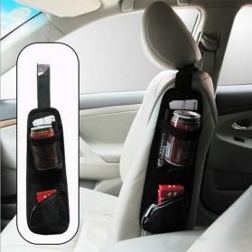 VODOOL Tas Gantung Kursi Mobil Car Seat Side Storage - E200 - Black