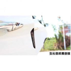 Pelindung Pintu Mobil Silicone Car Door Bumper Guard Resident Evil Model - White - 3