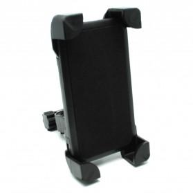Holder Sepeda Smartphone Rotasi 360 Derajat - Black