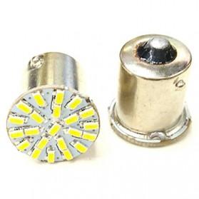 Lampu Rem Mobil LED 1156 BA15S SMD 3014 2PCS - White