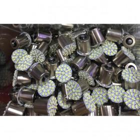 Lampu Rem Mobil LED 1156 BA15S SMD 3014 2 PCS - White - 5