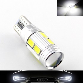 MaxGTRS Lampu Fog Light Mobil LED H3 T10 SMD 5630 2 PCS - SMDWB - White