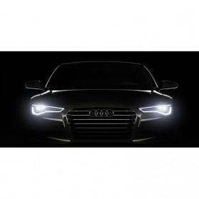 MaxGTRS Lampu Fog Light Mobil LED H3 T10 SMD 5630 2 PCS - SMDWB - White - 5