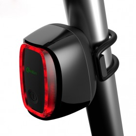 Meilan X6 Lampu Sepeda Rechargeable Bicycle Smart Taillight - Black