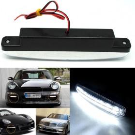 Lampu Fog Light Mobil Daytime LED 6000K 12V - LDN - Black - 6