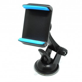 Smartphone Holder Mobil Suction Cup Stand HP - 161107 - Blue