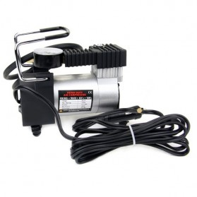 Mini Heavy Duty Air Compressor DC 12V 150 PSI - Black