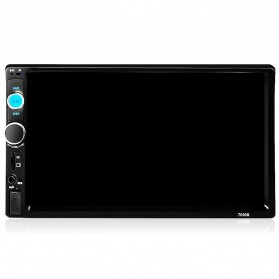 AMPrime Tape Audio Mobil Media Player Universal Bluetooth Touch Screen - Black
