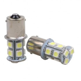 Lampu LED Rem Mobil 1156 13 SMD 5050 5W 2 PCS - White