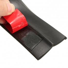 Pelindung Karet Bemper Depan Mobil - Black - 2