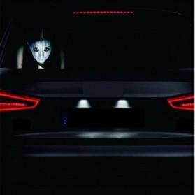 Stiker Hantu Kaca Mobil - Model 3 - 2