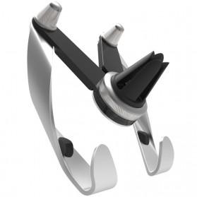 AutoBot Air Vent Smartphone Car Holder - Silver - 2