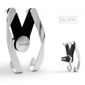 AutoBot Air Vent Smartphone Car Holder - Silver - 3