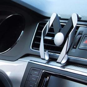 AutoBot Air Vent Smartphone Car Holder - Silver - 5