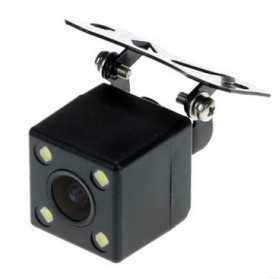 Kamera Belakang Mobil Nightvision dengan Parking Guide Line - Black