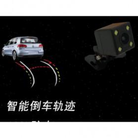 Kamera Belakang Mobil Nightvision dengan Parking Guide Line - Black - 4