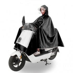 Jas Hujan Motor Full Cover - Black