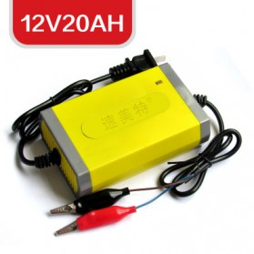Electric Car Charger 12V20AH - M+M - Yellow