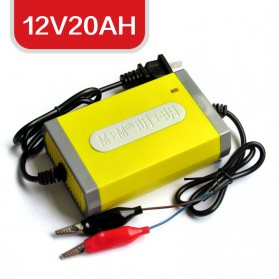SUMEITE Electric Car Charger 12V20AH - M+M - Yellow - 6
