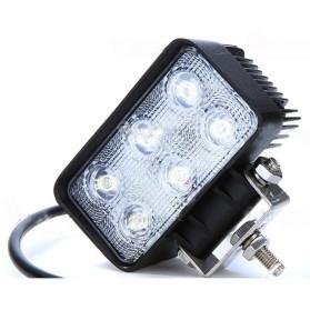 Lampu LED Headlight Mobil Offroad 18W 1260 Lumens - C18-ES - Black - 2