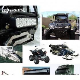 Lampu LED Headlight Mobil Offroad 18W 1260 Lumens - C18-ES - Black - 3