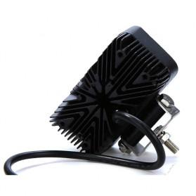 Lampu LED Headlight Mobil Offroad 18W 1260 Lumens - C18-ES - Black - 4