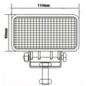Lampu LED Headlight Mobil Offroad 18W 1260 Lumens - C18-ES - Black - 5