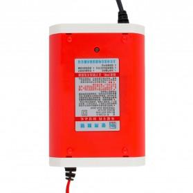 Charger Aki Mobil Motor 12V 6A dengan LCD - FBC1205D - Red - 4