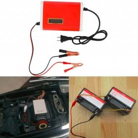 Charger Aki Mobil Motor 12V 6A dengan LCD - FBC1205D - Red - 6
