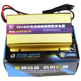 Charger Aki Mobil Motor 12V/30A 24V/18A - Golden - 4