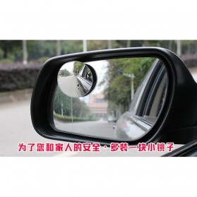 Kaca Spion Blindspot Wide Angle Fixed & Adjustable - ACP-002 - Black