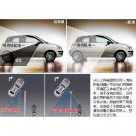 Kaca Spion Blindspot Wide Angle Fixed & Adjustable - ACP-002 - Black - 4