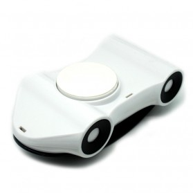 Dashboard Stand Smartphone Car Holder 360 Rotary - White/Black - 6