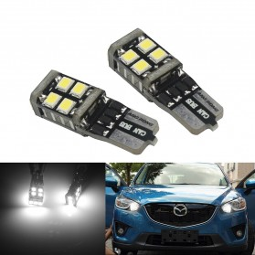 NOVSIGHT Lampu Mobil Headlight LED T10 W5W 11 SMD 2835 2 PCS - A383 - White - 1