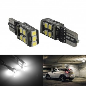 NOVSIGHT Lampu Mobil Headlight LED T10 W5W 11 SMD 2835 2 PCS - A383 - White - 2